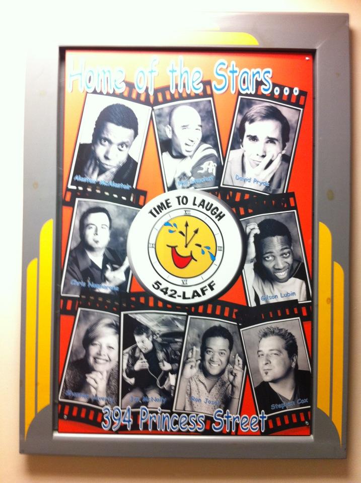 Time To Laugh Comedy Club | 394 Princess St, Kingston, ON K7L 5N3 | +1 613-542-5233