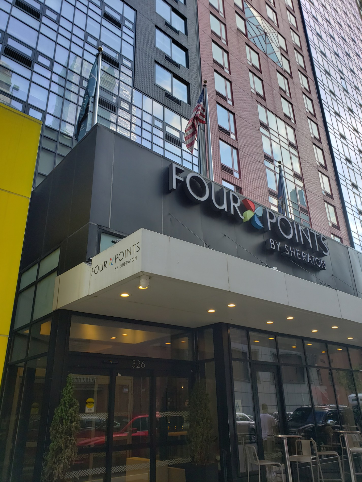 Four Points by Sheraton Midtown - Times Square | 326 West 40th Street, New York, NY, 10018 | +1 (212) 967-8585