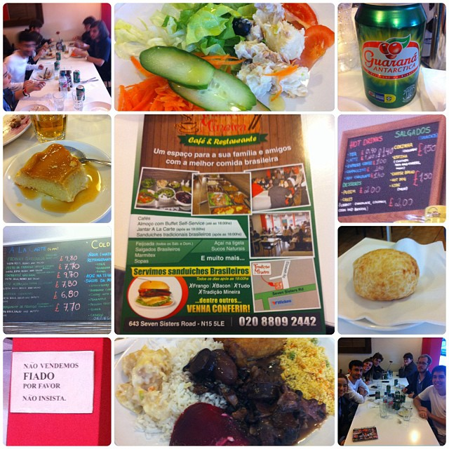 Cafe & Restaurante Tradicao Mineira | 643 Seven Sisters Road, London N15 5LE | +44 20 8809 2442