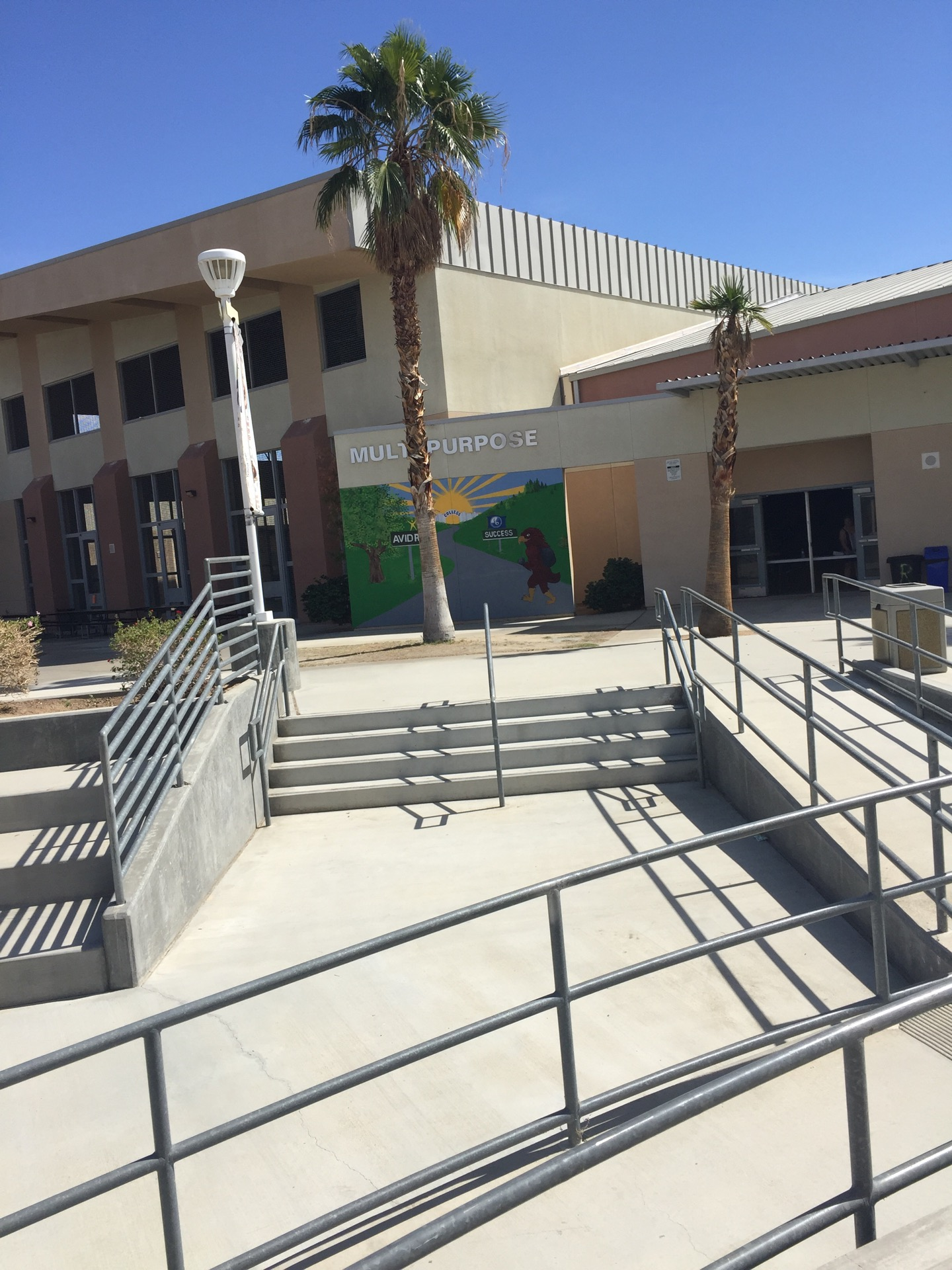 John Glenn Middle School Of International Studies   79-655 Miles Ave, Indio, CA, 92201   +1 (760) 200-3700