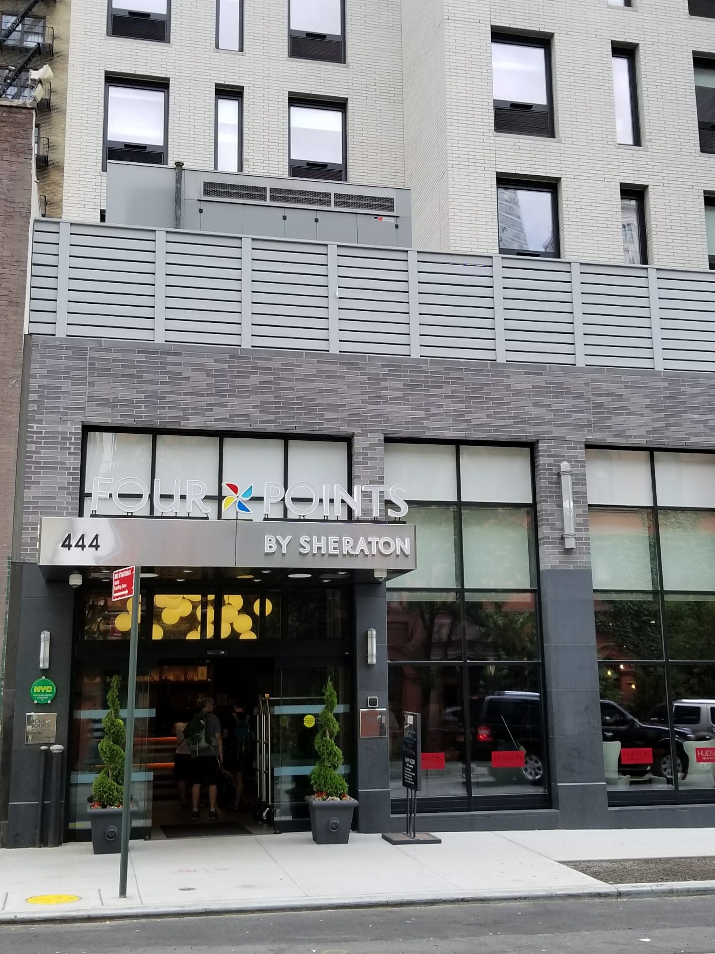 Four Points by Sheraton Manhattan Midtown West | 444 10th Avenue, New York City, New York 10001-1405 | +1 (646) 952-5980