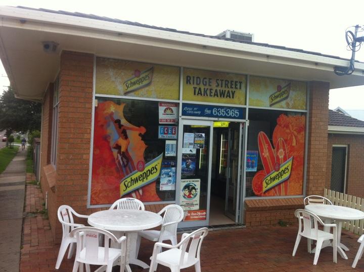 Ridge Street Takeaway | 10 RIDGE Street, Merewether, New South Wales 2291 | +61 2 4963 5365