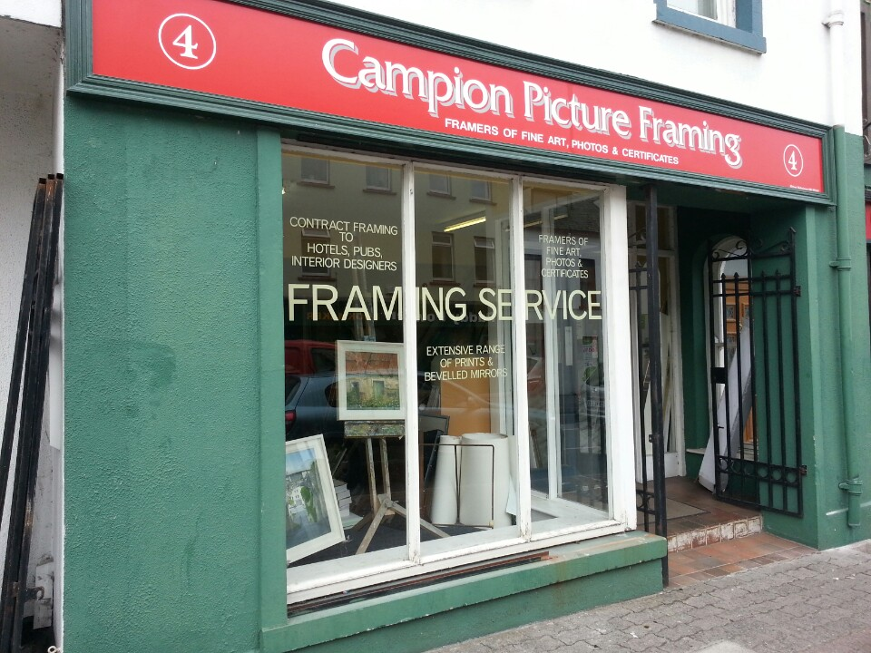 Campion Picture Framing | 4 Dean St, Kilkenny | +353 56 772 1454