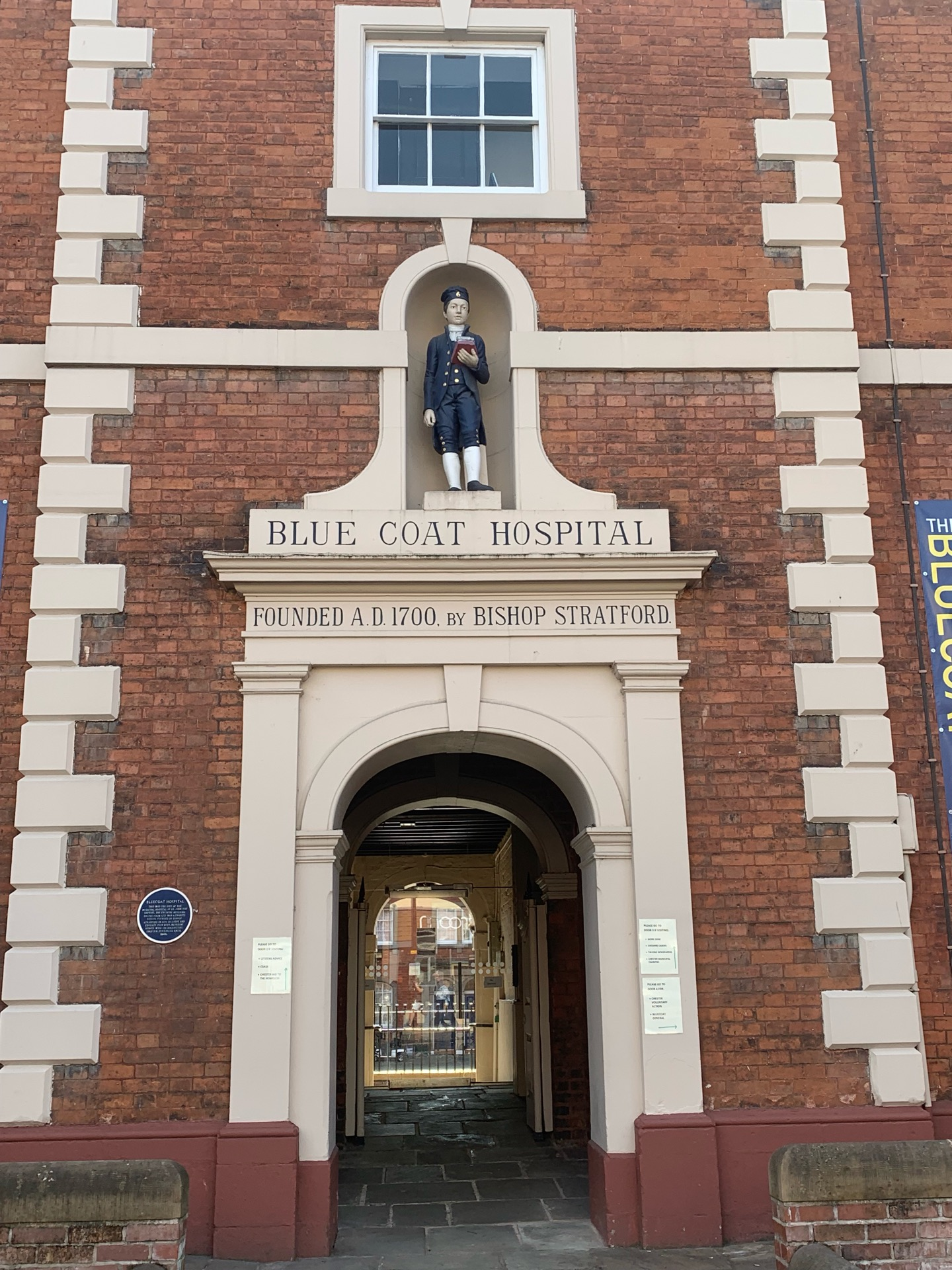 Chester Blue Coat Church Of England Primary School   Walpole Street, Chester CH1 4HG   +44 1244 981098