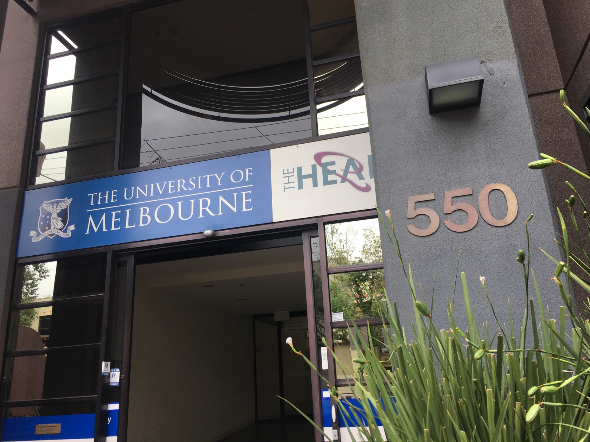 The University Of Melbourne Audiology Clinic   550 Swanston Street, Carlton, Victoria 3053   +61 3 9035 5333