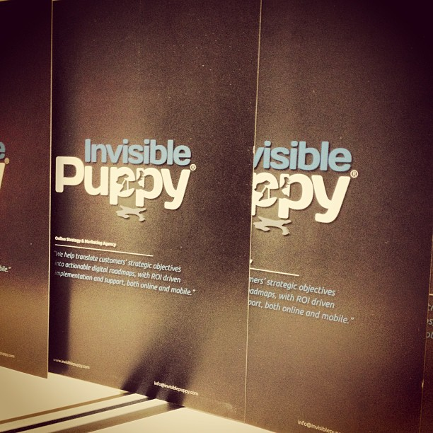 Invisible Puppy | Dok-Noord 6A, Internal Postal Box 101, 9000 Gent | +32 9 233 31 52