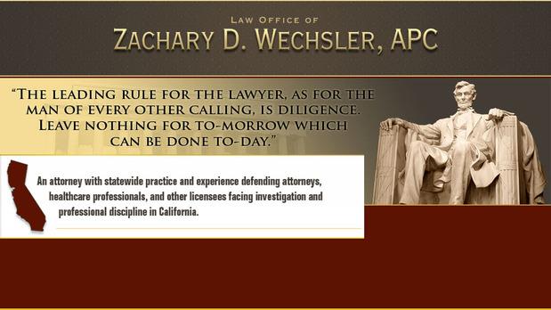Law Office of Zachary D. Wechsler, APC | 21515 Hawthorne Blvd #610, Torrance, CA, 90503 | +1 (310) 642-4600
