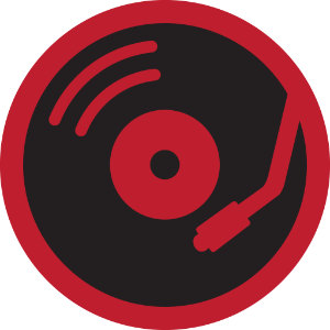 Foursquare record store badge