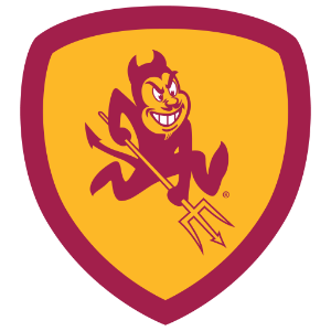 Sun Devil Super Fan badge