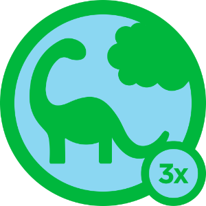 Badge Herbivore foursquare