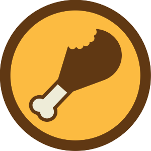 Fried Chicken Restaurant badge