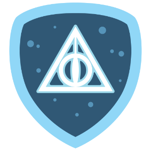 Harry Potter Foursquare Movie Badge