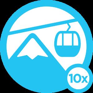 Ski Bum - Level 10