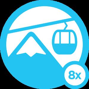 Ski Bum - Level 8